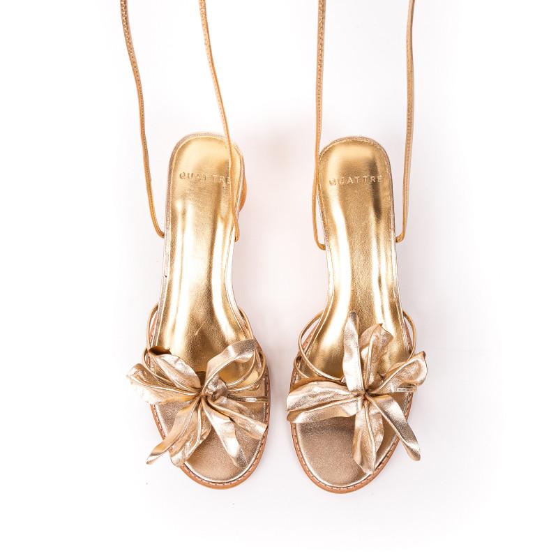 Sandália Flory Gold