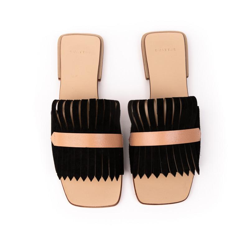 Flat Tie Preto