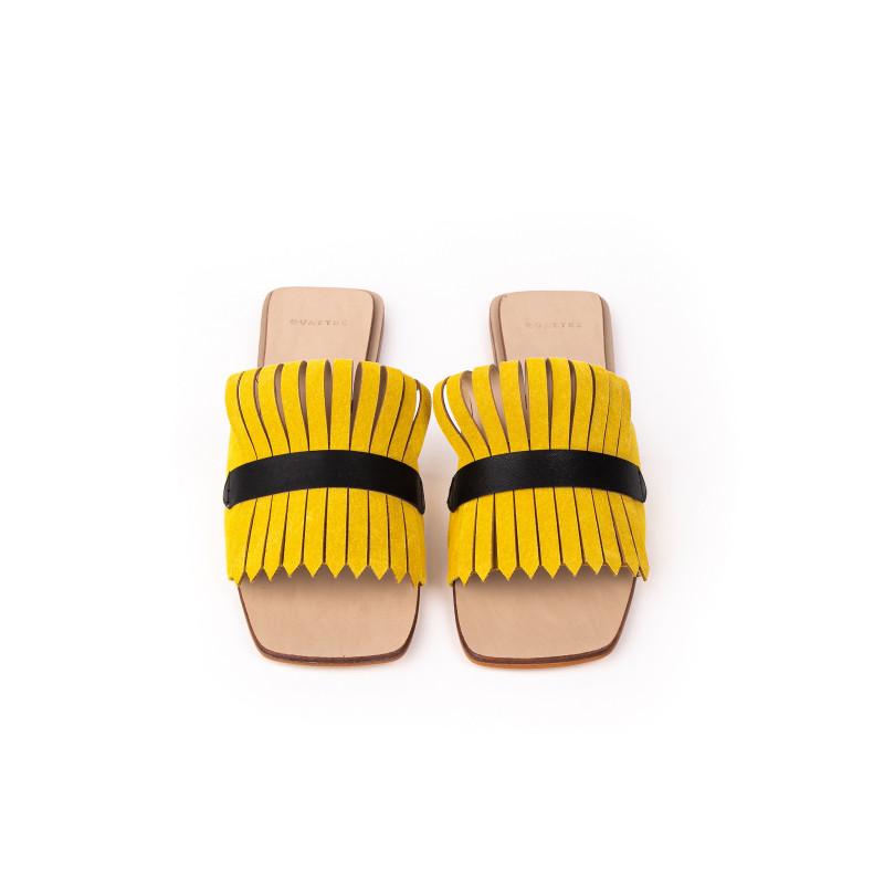 Flat Tie Amarelo