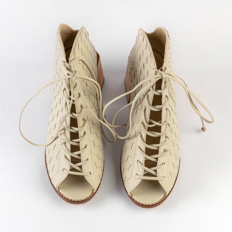 Unckle Boot Dama Off-White