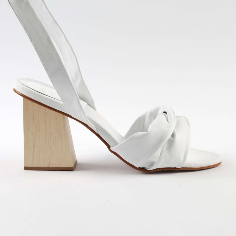 Sandalia Betania Branco